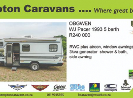 Dealer Approved Used Motorhomes For Sale, South Africa