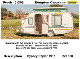 1997 Gypsey Rapier 5157G