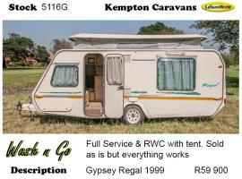 1999 Gypsey Regal 5116G