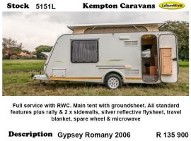 2006 Gypsey Romany 5151L