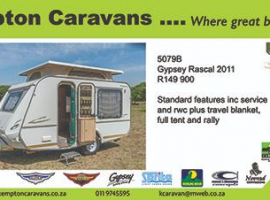 2011 Gypsey Rascal 5079B
