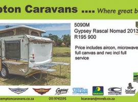 2013 Gypsey Rascal Nomad 5090M