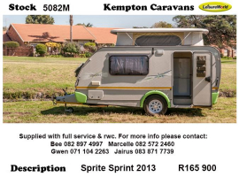 2013 Sprite Sprint 5082M