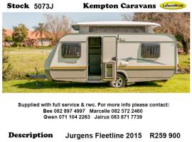 2015 Jurgens Fleetline 5073J