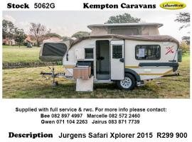 2015 jurgens Safari Xplorer 5062G
