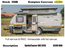 2015 Sprite Tourer SW 5138B