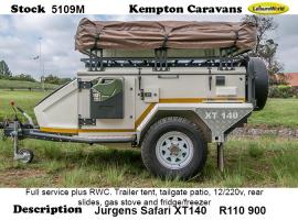 2017 Jurgens Safari XT140 5109M