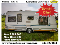 2012 Fendt Saphir Caravan (On road)