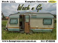 1989 Gypsey 3 Caravan (On road)