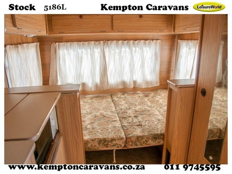 Ads - Kempton Caravans - 1987 Gypsey Caravette 5 Caravan (On