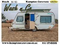 1999 Gypsey Rapture Caravan (On road)