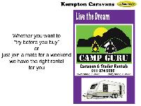 1998 Gypsey Rapture Caravan (On road)
