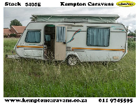 1996 Gypsey Regal Caravan (On road)