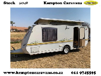 2015 Gypsey Regal Caravan (On road)