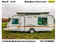 2001 Gypsey Regal Caravan (On road)