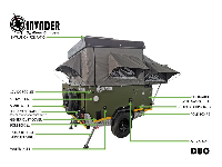 2020 Invader Duo Caravan (Off-Road)