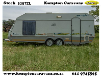1997 Jurgens Exclusive Caravan (On road)