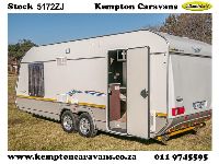 2014 Jurgens Exclusive Caravan (On road)