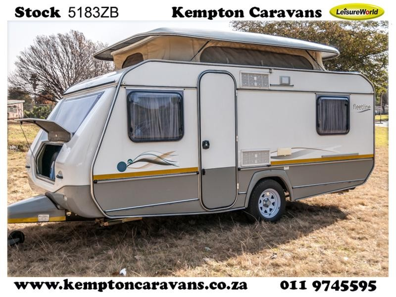Used 2010 Jurgens Fleetline Caravan (On road) For Sale