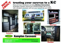 Caravan Kitchen Conversion
