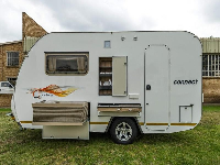 2019 Quantum Connect Caravan (On road)