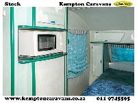 2001 Sprite Scenic Caravan (On road)