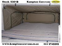 2008 Sprite Scout Nomad Caravan (Gravel road)