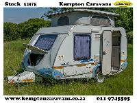 2005 Sprite Scout Caravan (On road)