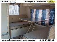 2006 Sprite Splash Caravan (On road)
