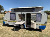 2017 Sprite Splash Caravan (On road)