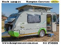 2011 Sprite Sprint Caravan (On road)