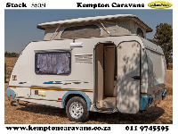2004 Sprite Surfer De Lux Caravan (On road)