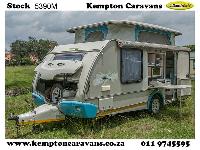 2011 Sprite Swing Caravan (On road)