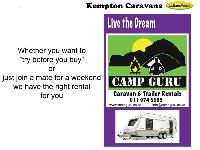 2014 Sprite Swing Caravan (On road)