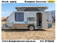 2004 Sprite Swing Caravan (On road)