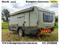 2011 Sprite Tourer SP Caravan (Gravel road)