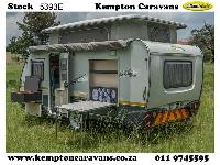 2015 Sprite Tourer SW Caravan (Gravel road)