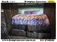 2019 Stealth Bush Lodge 594 Caravan (Gravel road)