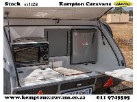2019 Vagabond Drifter Caravan (Gravel road)