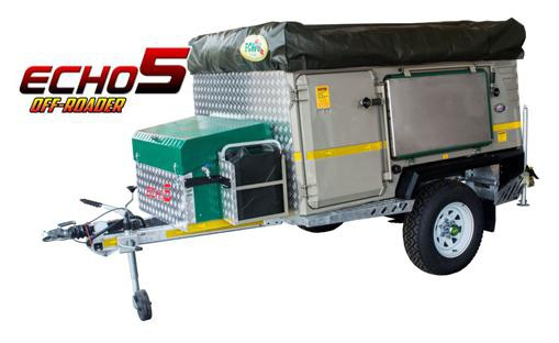 Echo 5 off road trailer