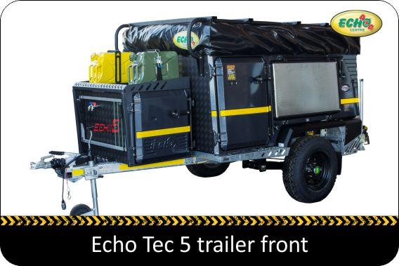 Kempton Caravans - Echo Tec 5 Off-road trailer